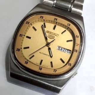 SEIKO 5 Automatic watch 6309-511M T made in Japan