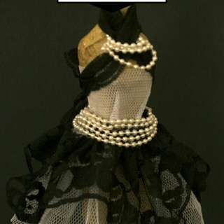 Fashion Dress Form Paper Doll.