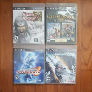 PS3 Games- Selling cheap