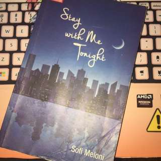 Novel Stay With Me To Night