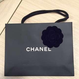 Chanel paper bag紙袋