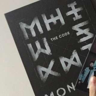 monsta x de code