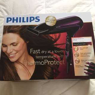Philips ThermoProtect ionic Hairdryer