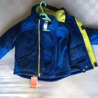 3-in-1 winter jacket