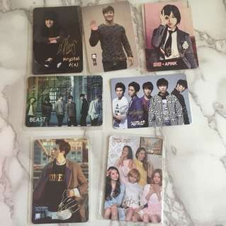 韓國明星銀簽yes card