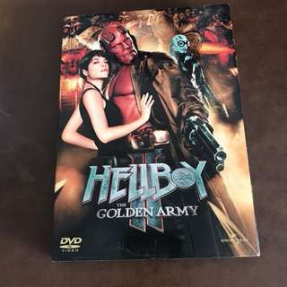DVD-HELLBOY THE GOLDEN ARMY