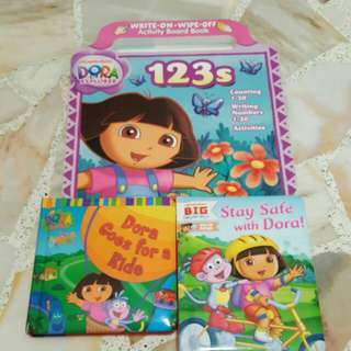 Moving out sale Dora book set