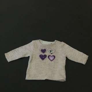 Sweater bayi perempuan
