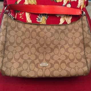 Coach Shoulder Bag with Long Strap