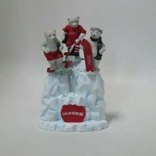 可樂冰山餐具擺設