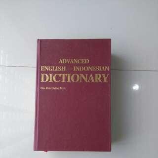 Advanced English-indonesian Dictionary