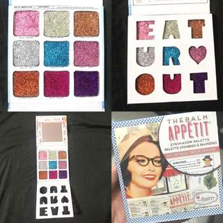The Balm Appetit Full Glitter Eyeshadow Palette