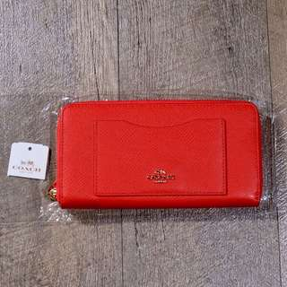 Coach wallet 銀包 (有單真品) (from Japan) (新年必備)(可小議)