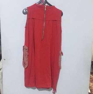 jaket merah