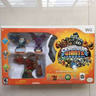 Nintendo Wii Skylanders Giants game set for sale.