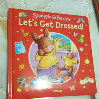 Preschooler dress up book