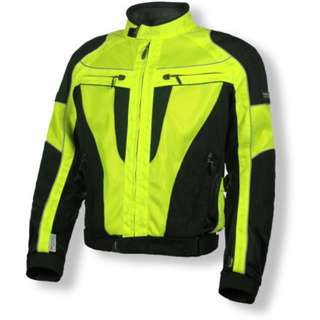Olympia Airglide 4 Mesh Riding Jacket Hi Vis