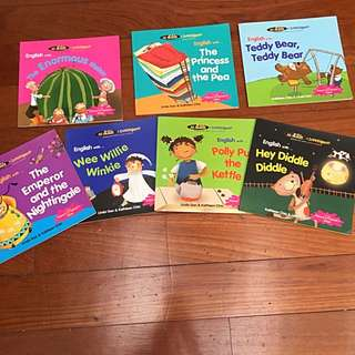 """""""All Kids R Intelligent!"""" English Rhymes and Stories series"""
