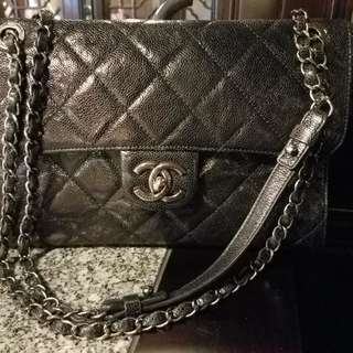 Chanel caviar handbag 牛皮手袋