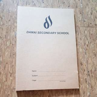 Damai Sec Sch A4 Exercise Book