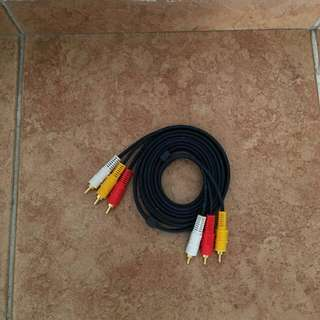 RCA Audio video cable