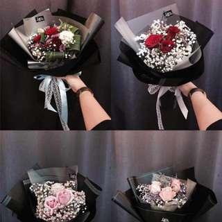 Fresh flower Rose Valentine's day
