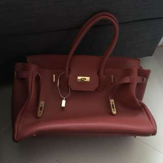 Hermes Birkin inspired bag