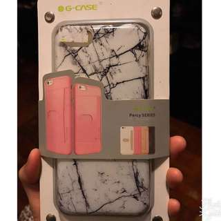 Iphone 7 case 殼📱白色雲石款