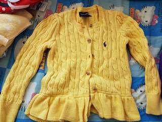 正版polo女童冷外套(size 4T), 新淨