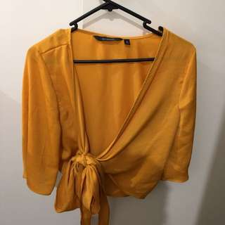 GLASSONS SIZE 8 WRAP TOP