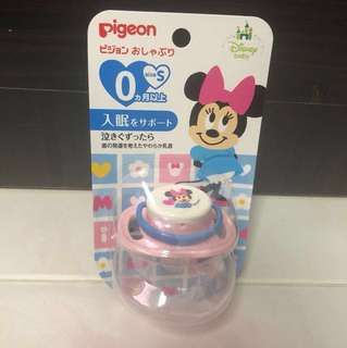 Pigeon Minnie Soother/Pacifier (Size S, 0 month and above)