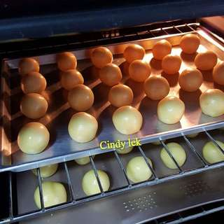 Pineapple tart balls