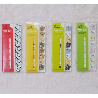 Animal Peep Out! Stick Markers (Sold Separately)