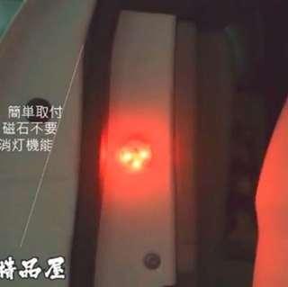 車門警示燈 ( 不需駁線 + 免磁石 ) , 即買即用!!
