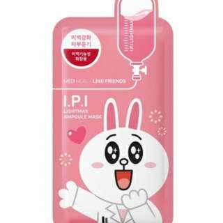 MEDIHEAL LINE FRIENDS I.P.I LIGHTMAX AMPOULE MASK 1S