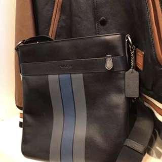 Authentic Coach men sling bag crossbody bag