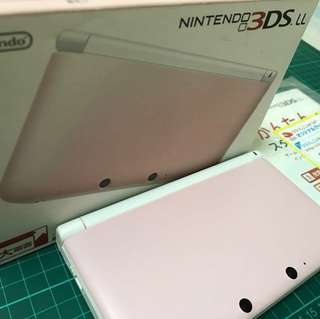 Nintendo 3DS LL Pink (Japan)