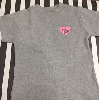 Cry Baby patched top