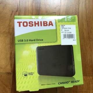 Toshiba 1TB USB 3.0 Hard Drive