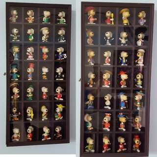 Mcdonald's  SNOPPY WORLD TOUR Complete Collection Set With Frame