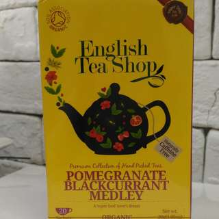 English Tea Shop Pomegranate blackcurrant Medley