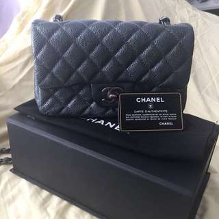 Chanel silver blue