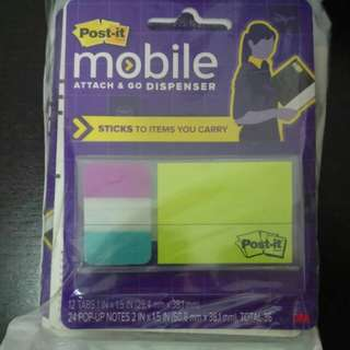 POST IT mobile attach and go Dispenser
