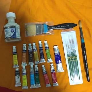 [free gift] + Watercolor materials for nafa student