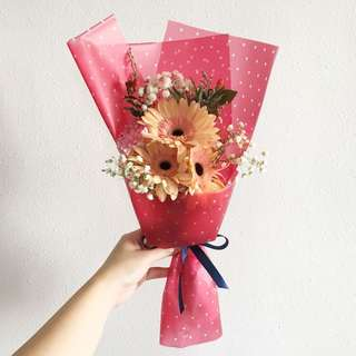 Instock Flash Sale in Peach Geberas with Mix Fillers