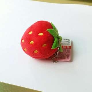 🚚 草莓可愛娃娃吊飾