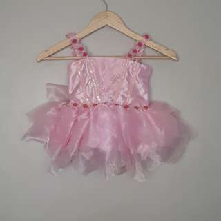 BABY FAIRY PINK GOWN