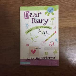 Dear Diary (A Girl's Book of Devotions) by Susie Shellenberger
