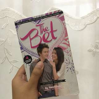 The Bet, wattpad book, extended edition