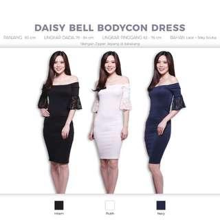 Daisy Bell Bodycon Dress (Baju Rok Pesta Gaun Formal)